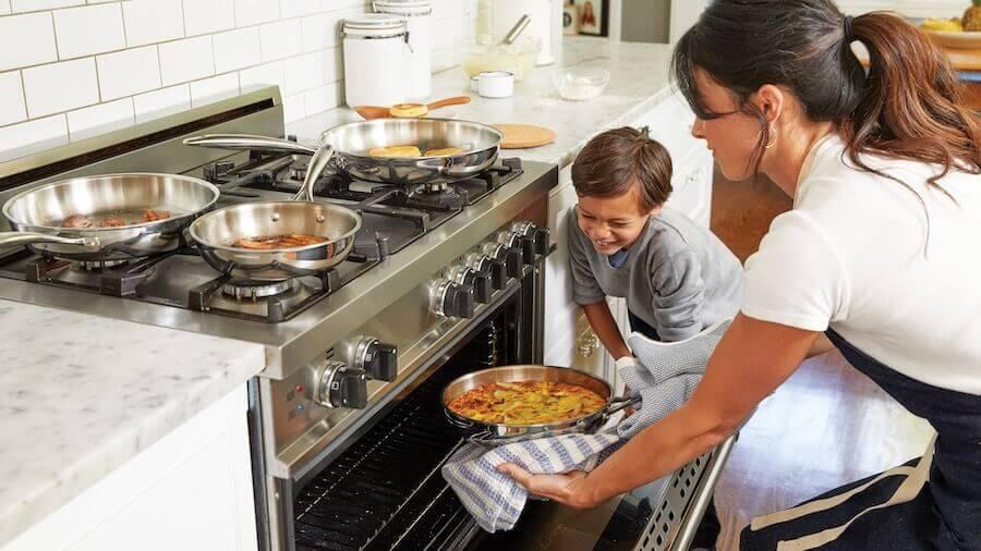 Kochen mit Familie